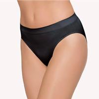 WACOAL Womens B-Smooth High-Cut Panties/Briefs 834175 Size L - Black