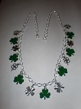 Shamrock charm necklace