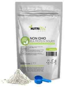 5lb 100% NEW PEA PROTEIN PRO ISOLATE NON-GMO HIGH PROTEIN VEGAN USP USA