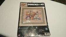 Dimensions Floral Harmony Stamped Cross Stitch Kit #3210