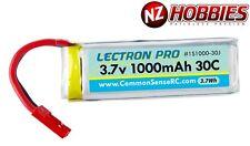 Lectron 1S 3.7V 1000mAh LiPo Battery Dromida Ominus / Vista Quad # 1S1000-30J