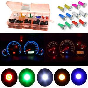 12V Car Dash T5 5050 SMD LED Gauge Cluster Lights Instrument Panel Bulbs 30 Sets