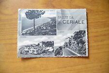 CARTOLINA SALUTI DA CERIALE VIAGGIATA 1955 SUBALPINA XX