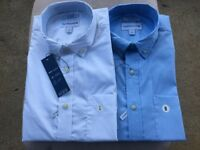 NWT Saddlebred Men Wrinkle-Free Short Sleeve Stretch Classic Fit Shirt Sz M/L/XL