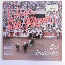 33T 25cm LOS IRUNA-KO Vinyle VIVA SAN FERMIN Corrida Taureau COLUMBIA 11038 RARE