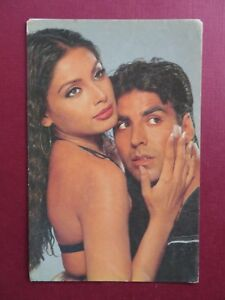 BIPASA & AKSHAY bollywood actress Picture postcard Collection 15 x 10 cm Old