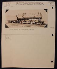 Original Vintage Schenectady #4665 Train Engine Builder's Portrait Photo