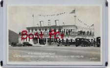 RPPC~SS GRAND VIEW POINT (SHIP) HOTEL,A STEAMER IN ALLEGHENY MTS~BEDFORD,PA