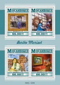 Mozambique Art Stamps 2015 MNH Berthe Morisot Orsay Museum Louvre 1v S/S