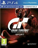 Gran Turismo GT Sport - Sony PS4 PlayStation 4 Game - New & Sealed