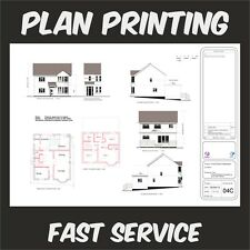 A1, A2 Plan Printing Building Plans Architectural Designs Seating Plans Printed