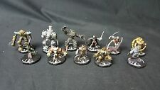 (#MK124) Mage Knight Mix lot of 11 Miniatures
