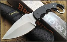 BROWNING WILD CHILD G10 HANDLE FIXED BLADE FULL TANG KNIFE WITH NYLON SHEATH