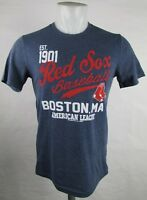 Boston Red Sox Majestic Men's Short Sleeve Distress Graphic T-Shirt MLB XS M