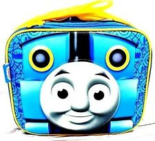 Thomas the Train NO1 Engine Canvas Blue Insulated Lunch Bag