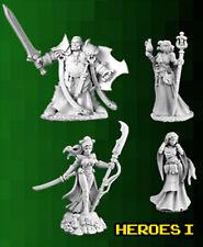 Reaper Miniatures - Bones 3 Kickstarter - Heroes I (4 Miniatures)