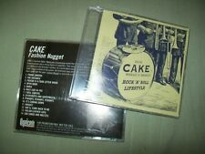 Cake         **PROMO CD LOT**         Fashion Nugget  --  Rock N Roll Lifestyle
