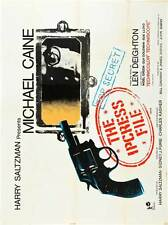THE IPCRESS FILE Movie POSTER 27x40 E Michael Caine Nigel Green Guy Doleman Sue