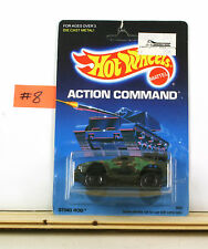 Hot Wheels Action Command Sting Rod Olive CTS BLK       B4