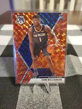 New Listing2019-20 Panini Mosaic Zion Willamson Rc Reactive Orange Pelicans #209