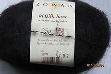 """Rowan """"KIDSILK HAZE"""" Mohair/Silk Blend Yarn #0599 Wicked"""