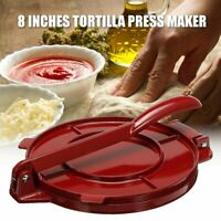 8 Inches Foldable Tortilla Press Maker Aluminum Flour Corn Baking Kitchen Tool