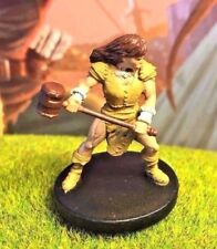 Half-Orc Barbarian D&D Miniature Dungeons Dragons pathfinder menagerie fighter A
