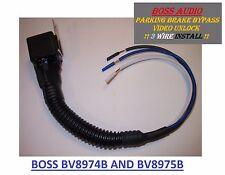 BOSS AUDIO CAR VIDEO DVD IMAGE UNLOCK PARKING BRAKE BYPASS FOR BV8974B BV8975B