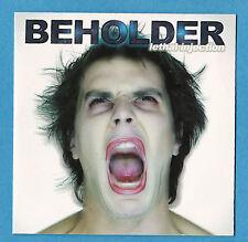 BEHOLDER Lethal Injection FULL ALBUM PROMO CD cardsleeve Tyrant Roberto Tiranti