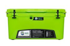 Frosted Frog Green 75 Quart Ice Chest Heavy Roto-Duty Molded Insulated Cooler