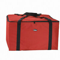 Pizza Food Delivery Bag Red Thermal Insulated Holds 22 Red Pizza Bag Case NEW