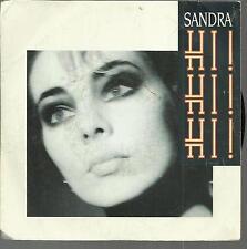 45 TOURS 2 TITRES / SANDRA  HI  !  HI !  HI ! A4