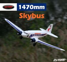 Dynam RC AIrplane Scales Skybus White 1470mm Wingspan - PNP