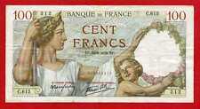 (Ref: C.615)  100 FRANCS SULLY  14/09/1939  (TTB+) DATE RARE