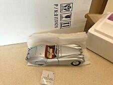 New ListingFranklin Mint 1952 Jaguar Xk120 - Die-Cast 1:24 - New In Box!