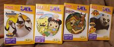 Lot of 4 Fisher Price iXL Learning System. Scooby-Doo,Kung Fu Panda 2 and more!