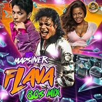 Dj Madsilver - 80's Flava Pop, R&B & Soul Mix CD