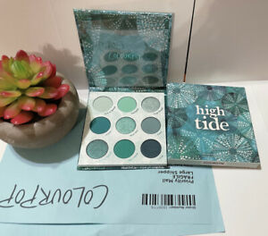 100% Authentic Colourpop High Tide Eye Shadow Palette New In Box