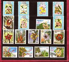 LAOS Fleurs sylvestres et orchidés   A551-247T1