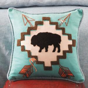 Deser Vibes Buffalo Arrow Pillow