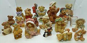 Job Lot x25 Bear Figurines Cherished Teddies Beau Leonardo Collection & more! J4