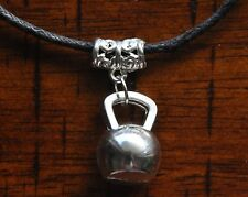 Kettlebell Pendant Necklace Bodybuilding Lifting Muscle Strongman Crossfit Gym