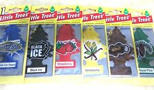 Little Trees Hanging Car & Home Air Freshener 24 Mixed Assorted Scent Packs