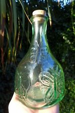 Glass Bottle With Butterfly Design Made in Spain home decor decoration drink