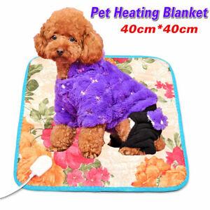 220V Electric Pet Heating Mat Blanket Cat Dog Heater Pad Bed Winter Waterproof