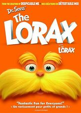 Dr. Seuss' The Lorax (DVD, 2012, Canadian) NEW