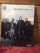 Dave Matthews Band Everyday Guitar Tab Book BANJO WAREHOUSE ATLANTA GEORGIA