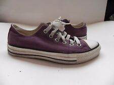 Converse~Chuck Taylor~Purple Low Top Sneakers MENS 5 WOMENS 7