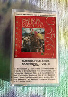 Cassette Tape MARIMBA Folklorica Cakchiquel Volume 2 Guatemala Original 1984