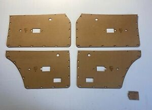 Ford TE MK4 Cortina Sedan, Wagon Door Cards. Blank Trim Panels